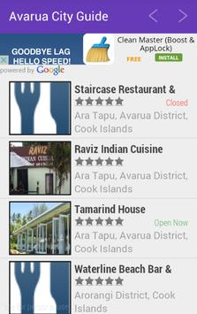 Avarua City Guide screenshot 1