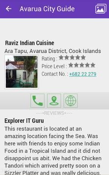 Avarua City Guide apk screenshot