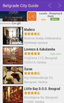 Belgrade City Guide apk screenshot