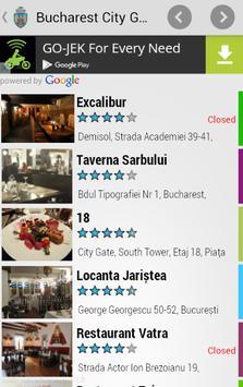 Bucharest City Guide screenshot 2