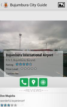 Bujumbura City Guide apk screenshot