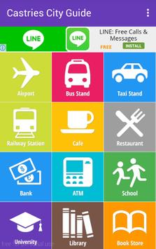 Castries City Guide apk screenshot