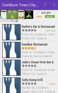 Cockburn Town City Guide apk screenshot
