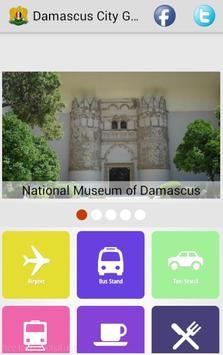 Damascus City Guide poster