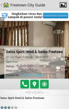 Freetown City Guide apk screenshot