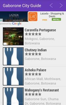 Gaborone City Guide apk screenshot