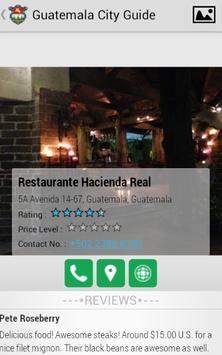 Guatemala City Guide screenshot 3