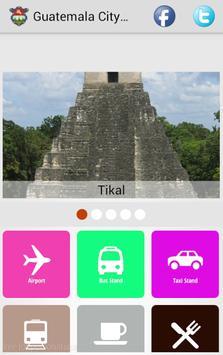 Guatemala City Guide poster