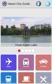 Hanoi City Guide poster