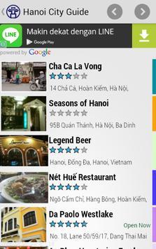 Hanoi City Guide apk screenshot