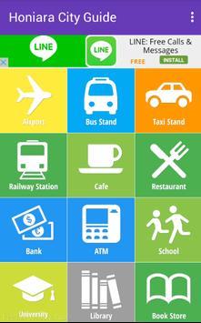 Honiara City Guide poster