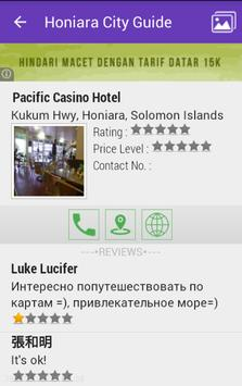 Honiara City Guide apk screenshot