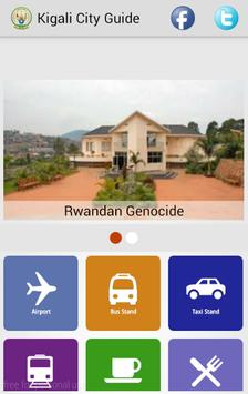 Kigali City Guide poster