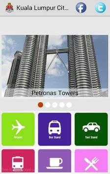 Kuala Lumpur City Guide poster