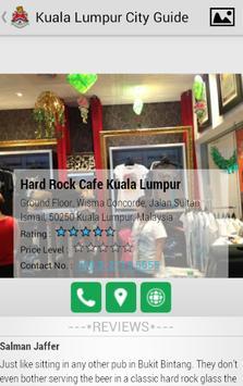 Kuala Lumpur City Guide apk screenshot