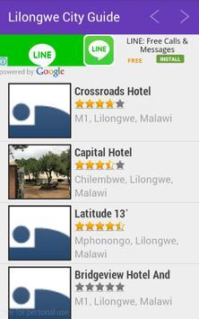 Lilongwe City Guide apk screenshot