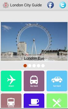 London City Guide poster