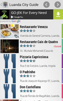 Luanda City Guide apk screenshot