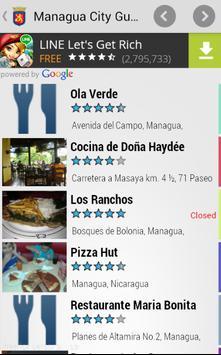 Managua City Guide apk screenshot