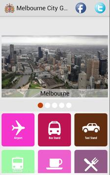Melbourne City Guide poster