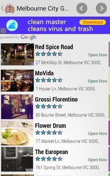 Melbourne City Guide apk screenshot