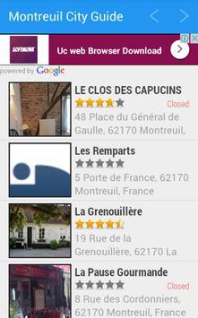 Montreuil City Guide apk screenshot