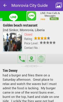 Monrovia City Guide apk screenshot