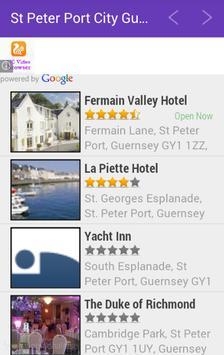 St. Peter Port City Guide apk screenshot