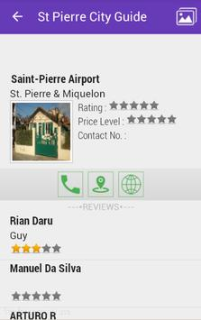 St. Pierre City Guide apk screenshot