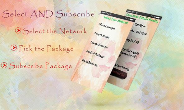 All Network Packages: New Bundles All Networks apk screenshot