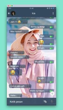 wa transparan - cuteimut screenshot 1