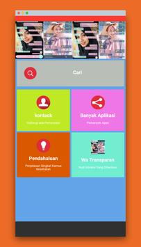 wa transparan - cuteimut screenshot 6