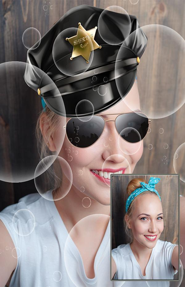 Snap carnival face filters poster