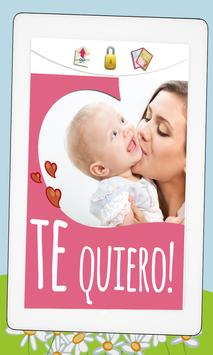 Frames & love quotes : Spanish poster