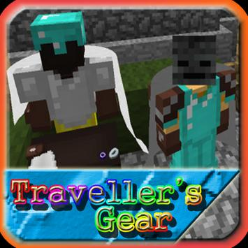 Travellers Gear MCPE Guide Mod poster