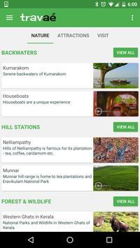 Kerala Tourism - Travae! poster