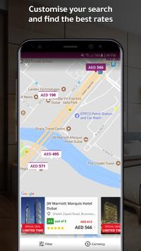 المسافر لحجز الفنادق و الطيران apk imagem de tela