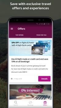 المسافر لحجز الفنادق و الطيران captura de pantalla de la apk