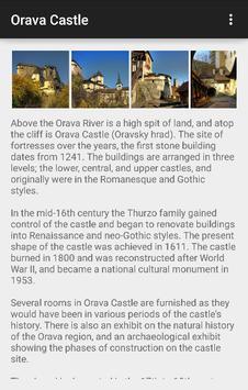 Castles Guide Slovakia apk screenshot