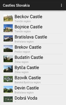 Castles Guide Slovakia poster