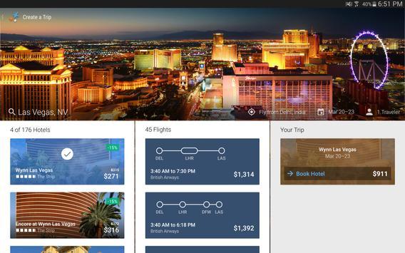 Travelocity Hotels Flights Apk Screenshot