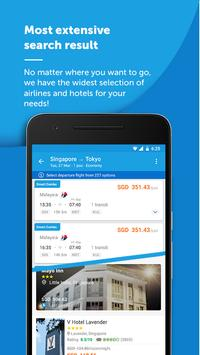 Traveloka Book Flight & Hotel apk تصوير الشاشة