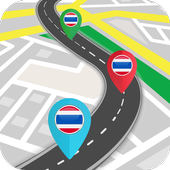 Thailand GPS Navigation & Maps icon