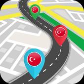 Turkey GPS Navigation & Maps icon