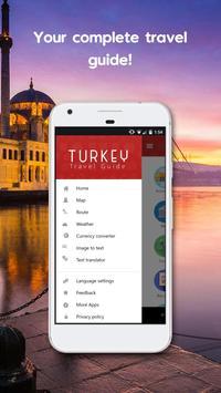 Turkey GPS Navigation & Maps poster