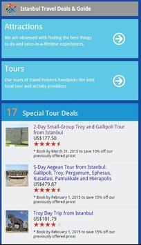 Istanbul Travel Deals & Guide poster