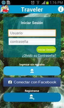 Traveler App poster