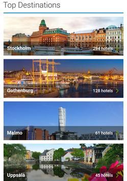 Booking Sweden Hotels poster