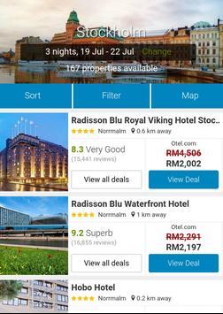 Booking Sweden Hotels screenshot 3