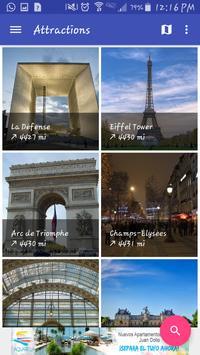Paris Travel Guide apk screenshot